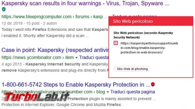 Kaspersky Security Cloud: l'antivirus gratuito protegge computer (prova test efficacia)