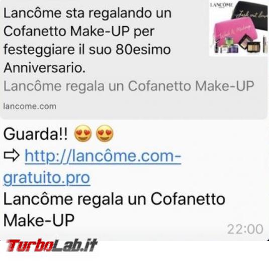 Lancôme regala cofanetto make-up 80 anni: è truffa! - FrShot_1587276731