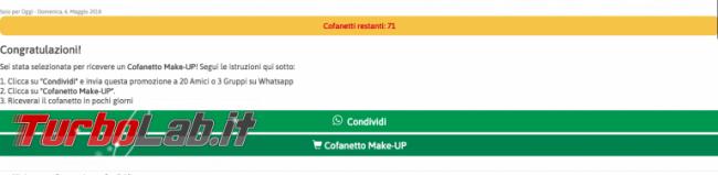 Lancôme regala cofanetto make-up 80 anni: è truffa! - Screenshot-2018-05-07-00.00.35-768x189