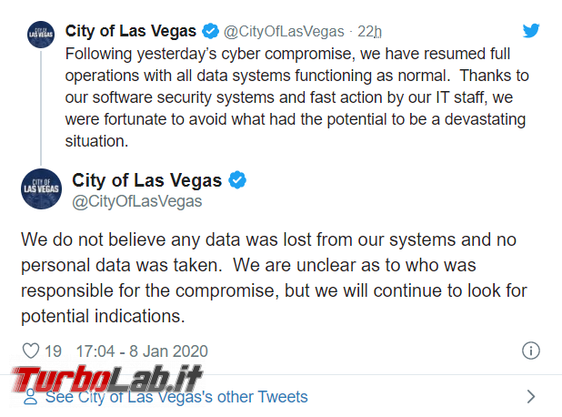 Las Vegas sotto cyberattacco - FrShot_1578580664