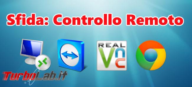 Lavorare PC Windows lontano: Grande Guida Desktop remoto (Remote desktop) - Sfida controllo remoto