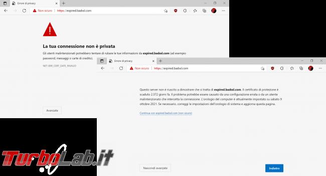 Let's Encrypt Nginx: come rinnovare automaticamente certificato HTTPS riavviare server web dopo rinnovo - https la tua connessione non è privata expired