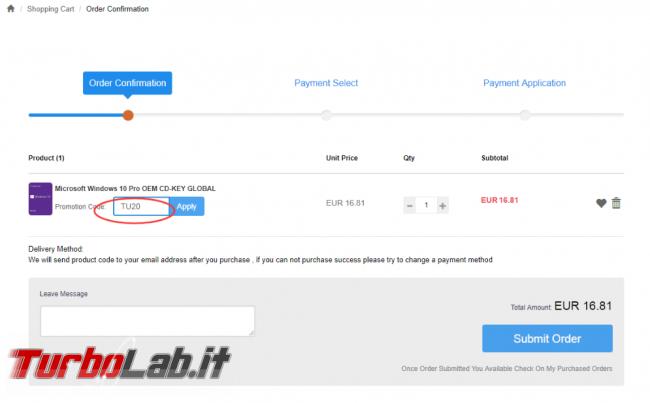 Licenze Windows meno 14 € Whokeys! - FrShot_1600591596