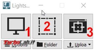 Lightscreen si possono catturare salvare screenshot modo quasi automatico