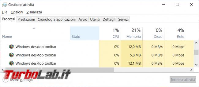 Linkbar crea barre strumenti aggiuntive desktop