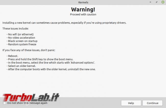 Linux Mint: rimuovere kernel superati GUI ( non solo) recuperare po' spazio disco - Screenshot from 2021-08-16 18-01-16