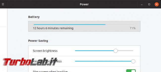 Linux / Ubuntu consuma troppa batteria! Come risolvere migliorare autonomia PowerTOP - Screenshot from 2019-09-17 21-57-24