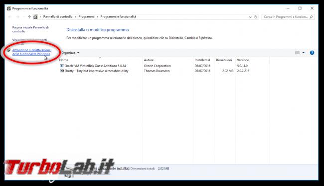 Linux Windows 10: Grande Guida WSL2. Come installare Sottosistema Windows Linux (WSL), eseguire programmi, accedere file - Programmi e funzionalità