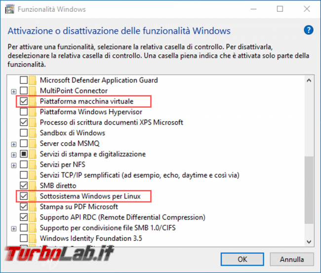 Linux Windows 10: Grande Guida WSL2. Come installare Sottosistema Windows Linux (WSL), eseguire programmi, accedere file (video) - componenti per wsl2