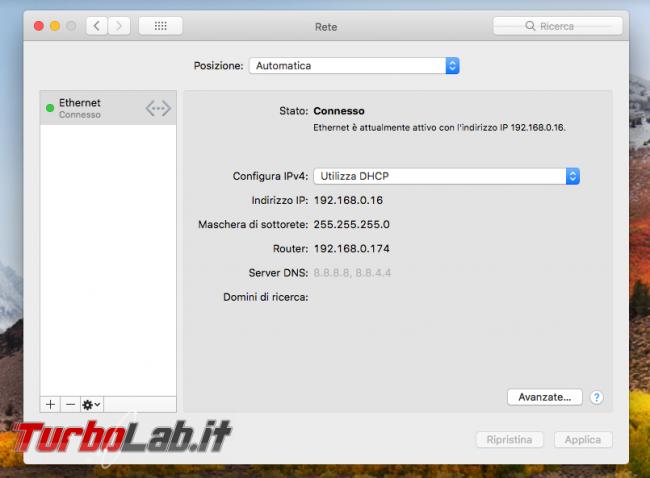 Mac indirizzo IP statico: come configurarlo manualmente (guida)