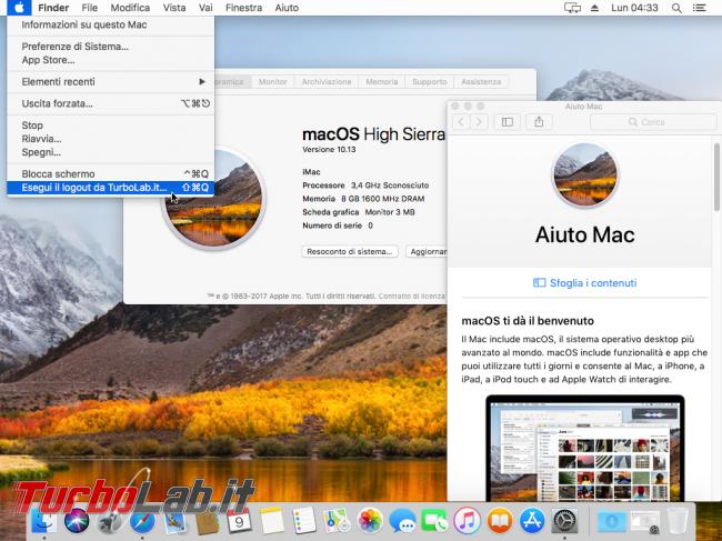 Mac italiano: come tradurre interfaccia macOS 11 - VirtualBox_macOS_09_10_2017_13_33_20