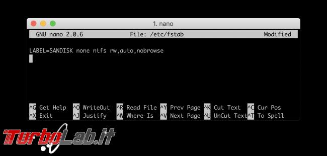 Mac NTFS: come scrivere chiavette USB Windows macOS Mojave, High Sierra, Sierra - Screenshot 2019-01-13 at 13.20.56