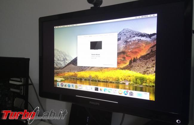 macOS VM VirtualBox PC Windows: come alzare risoluzione video ed entrare fullscreen (full HD, 1080p) senza bande nere - IMG_20171011_175924