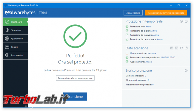 Malwarebytes 3.0 è disponibile download gratuito immediato