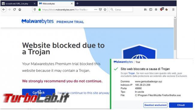 Malwarebytes 4.0 è buon antimalware? Prova recensione