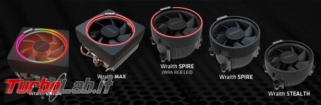 Meglio Ryzen 3600 oppure 3600X? Quali differenze? Qual è migliore CPU scegliere? - amd cooler wraith