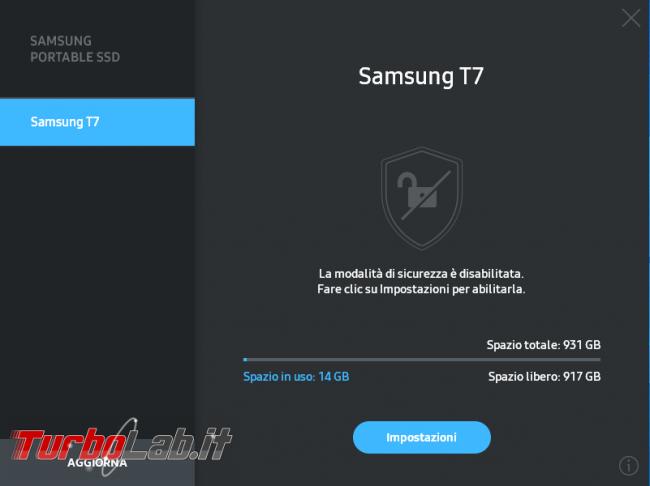 Memoria esterna Samsung SSD T7: Recensione, prova pratica, test velocità (disco SSD esterno USB PC smartphone Android) - screen_xps_1607852727