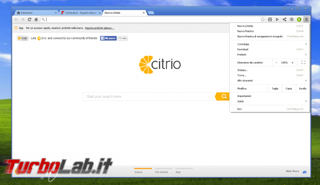 miglior browser Windows XP: quali alternative Google Chrome? - citrio windows xp