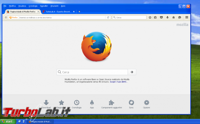 miglior browser Windows XP: quali alternative Google Chrome? - firefox su windows xp