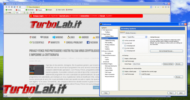 miglior browser Windows XP: quali alternative Google Chrome? - k-meleon per windows xp