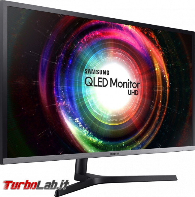 "miglior monitor 32"" 4K UHD è sconto 44% Amazon - monitor display 4k Samsung U32H850"