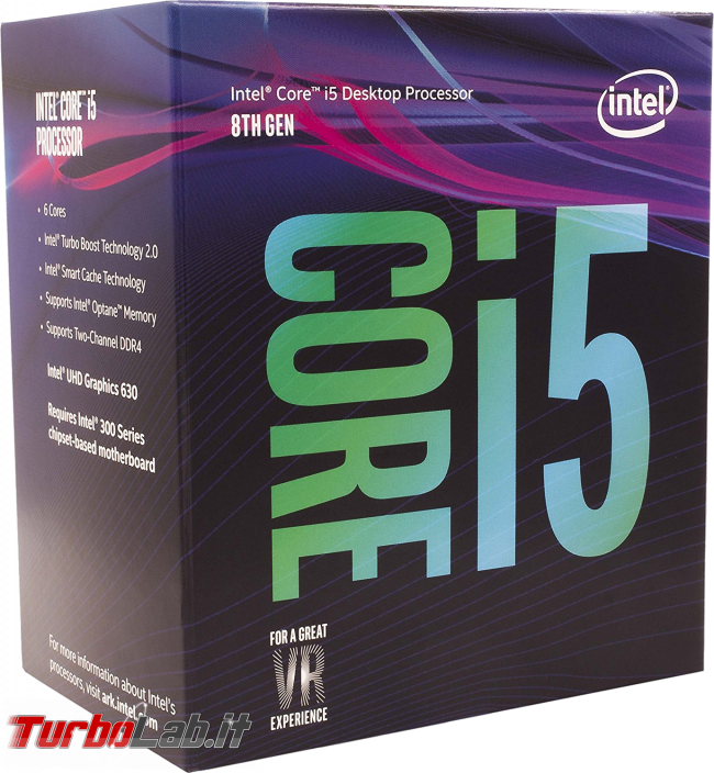 miglior PC fisso posso assemblare: guida mercato scelta CPU, MoBo, RAM, SSD, case - edizione Coffee Lake, autunno/inverno 2017 - intel core i5 cofee lake 8th gen