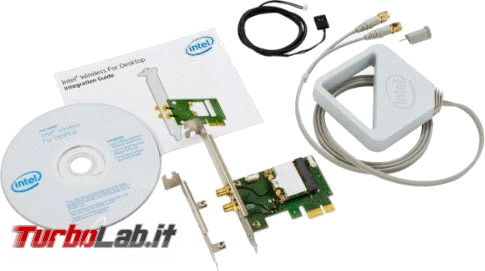 miglior PC fisso posso assemblare: guida mercato scelta CPU, MoBo, RAM, SSD, case - edizione Coffee Lake, autunno/inverno 2017 - Intel Dual Band Wireless-AC 7260