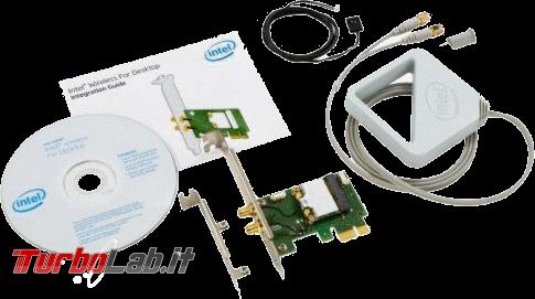 miglior PC fisso posso assemblare: guida mercato scelta CPU, MoBo, RAM, SSD, case - edizione Coffee Lake, estate 2018 - Intel Dual Band Wireless-AC 7260