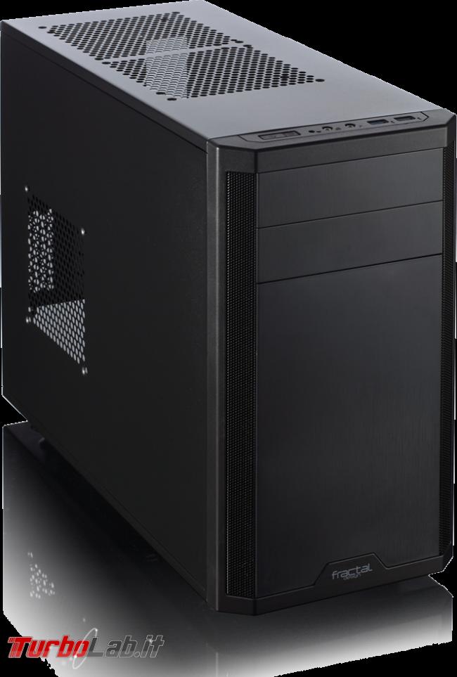 miglior PC fisso posso assemblare: guida mercato scelta CPU, MoBo, RAM, SSD, case - edizione Skylake, estate 2016 - fractal design core 1500