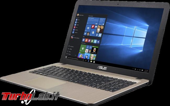 miglior PC portatile / notebook economico (budget max: 250-400 €) posso comprare (autunno/inverno 2016) - notebook Asus X540SA