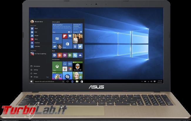 miglior PC portatile / notebook economico (budget max: 250-400 €) posso comprare (autunno/inverno 2016) - notebook Asus X540SA-XX018T