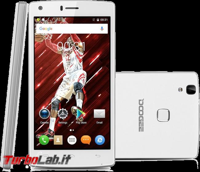 miglior smartphone Android, inverno 2016-2017 - Guida mercato 80-400 € - DOOGEE X5 Max Pro