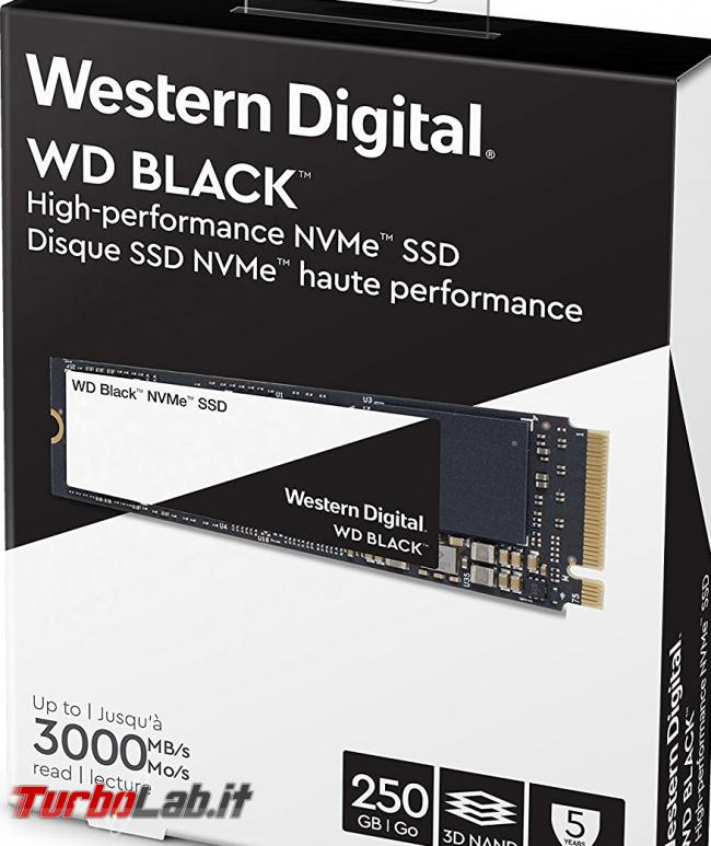 miglior SSD NVMe M.2 PCIe posso comprare massima velocità PC / notebook (estate 2018) - Windows Defender black ssd m.2 nvme