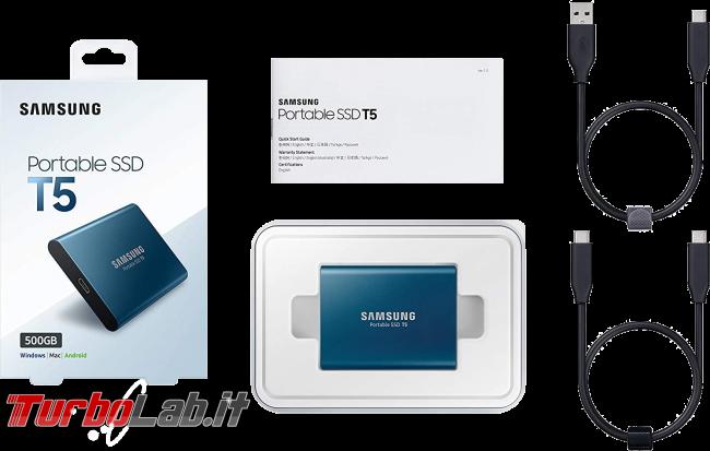 migliore disco USB posso comprare 2020 (disco esterno, SSD USB 3.0, 3.1, 3.2) - samsung portable ssd