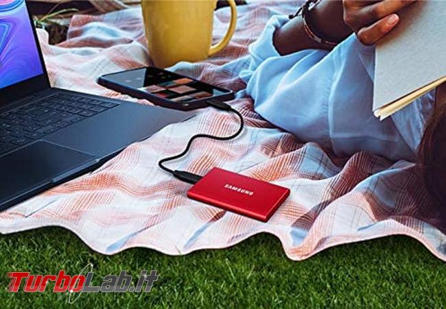 migliore disco USB posso comprare 2020 (disco esterno, SSD USB 3.0, 3.1, 3.2) - samsung ssd usb red