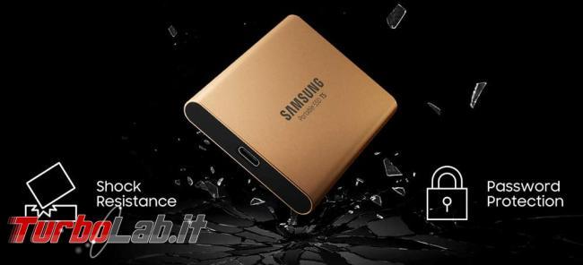 migliore disco USB posso comprare 2020 (disco esterno, SSD USB 3.0, 3.1, 3.2) - Samsung T5 ssd esterno