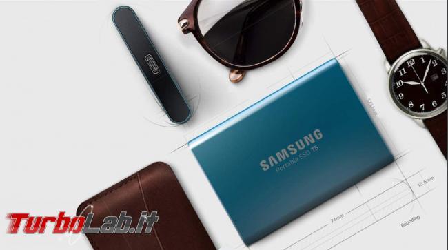 migliore disco USB posso comprare 2021 (disco esterno, SSD USB 3.0, 3.1, 3.2) - Samsung T5 ssd esterno