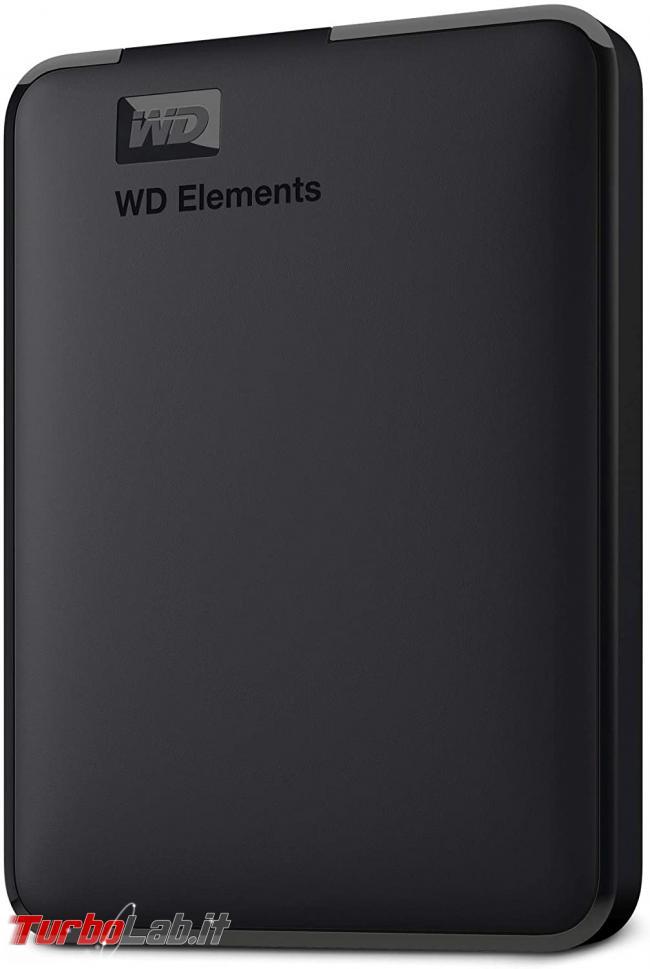 migliore disco USB posso comprare 2021 (disco esterno, SSD USB 3.0, 3.1, 3.2) - WD 4TB Elements Portable
