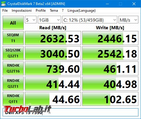 migliore notebook alte prestazioni programmare montare video: recensione Dell XPS 15 7590 (modello 2019) - screen_xps_1568099209