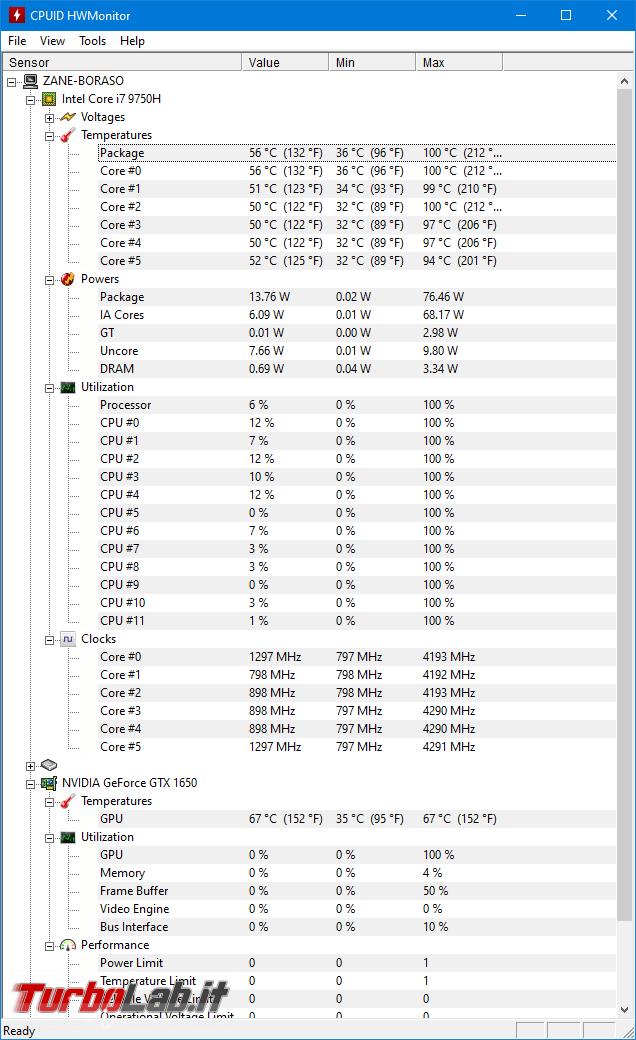 migliore notebook alte prestazioni programmare montare video: recensione Dell XPS 15 7590 (modello 2019) - screen_xps_1568120238