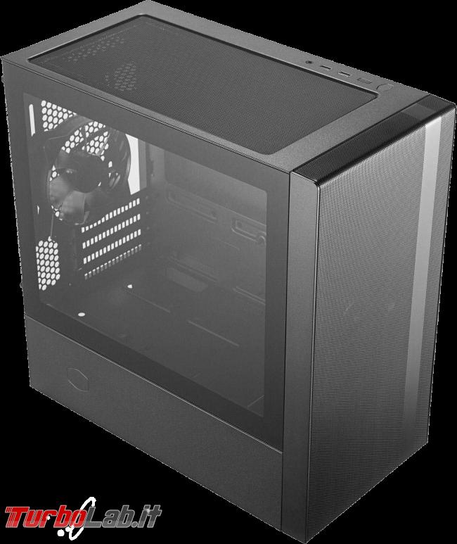 migliore PC fisso 2019: guida scelta CPU, GPU, scheda madre, RAM, SSD, case - Case Cooler Master Masterbox NR400