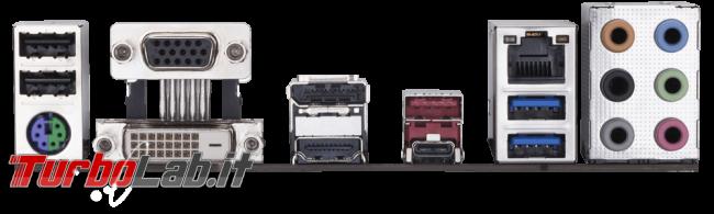 migliore PC fisso posso assemblare: guida mercato scelta CPU, MoBo, RAM, SSD, case - edizione Coffee Lake, estate 2018 - gigabyte B360M D3H retro
