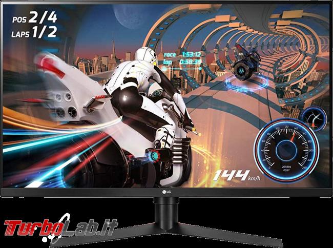 Migliore schermo PC 2020: guida scelta monitor 4K/QHD fisso notebook - monitor gaming lg