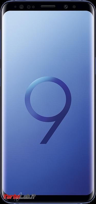 Migliore smartphone Android 2019: consiglio acquisto entro 200 €, 300 €, 600 € max (video-guida) - Samsung Galaxy S9
