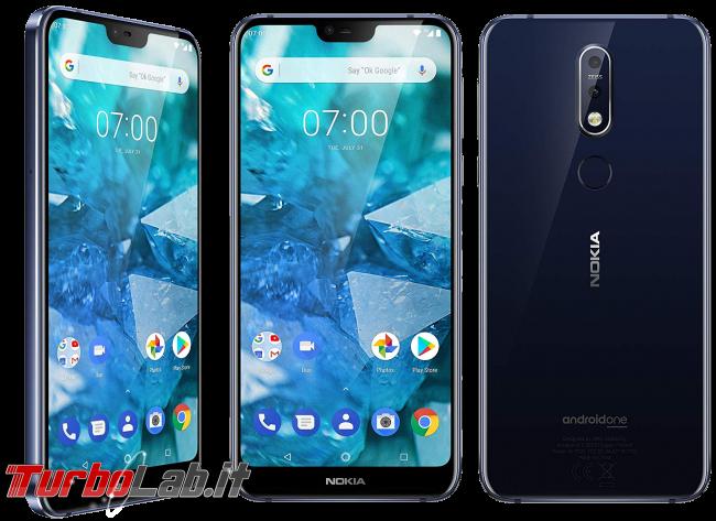 Migliore smartphone Android 2019: consiglio acquisto entro 200 €, 300 €, 600 € max (video-guida) - smartphone nokia 7.1
