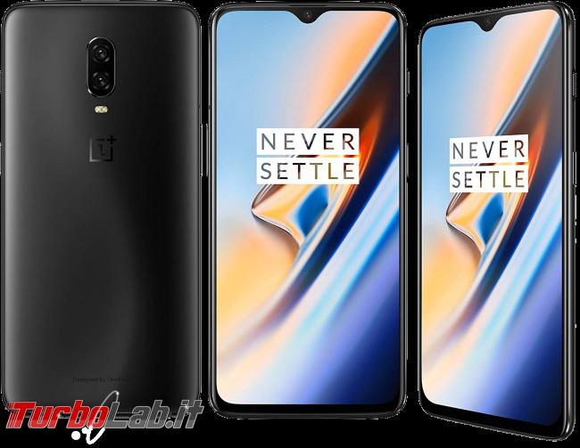 Migliore smartphone Android 2019: consiglio acquisto entro 200 €, 300 €, 600 € max (video-guida) - smartphone oneplus 6y