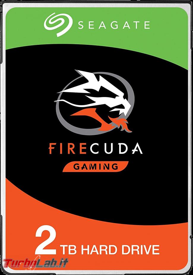 migliore SSD/disco fisso (sostitutivo) SATA PC notebook: quale comprare, guida definitiva 2020 - seagate hard disk firecuda gaming 2 Thunderbird