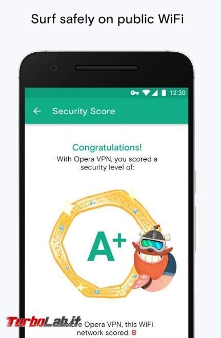 migliori app navigare anonimi Android - 2017-04-01 15_04_17-Opera Free VPN - Unlimited VPN - App Android su Google Play