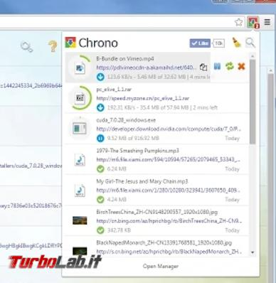migliori download manager Firefox Chrome - download manager chrome 2