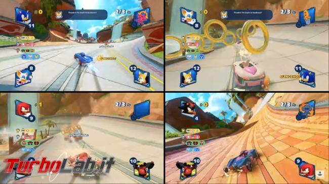 migliori giochi PC Multiplayer Locale schermo condiviso suddiviso - sonic_team_racing